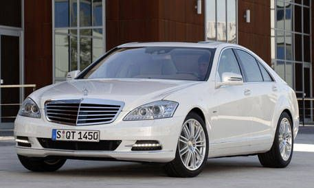 Stuttgart Germany As Part Of Its Facelift Flagship Sedan For The Upcoming Model Year 2010 Mercedes Benz S400 Hybrid Is German Luxury Car