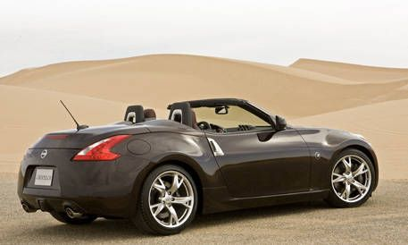 First Look At The New 2010 Nissan 370z Roadster Photos And Just