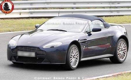 Future Car Spy Shots Of The 2012 Aston Martin V12 Vantage Roadster