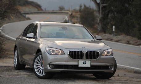 Road Test Of The 2009 Bmw 750li Full Authoritative Test Of The