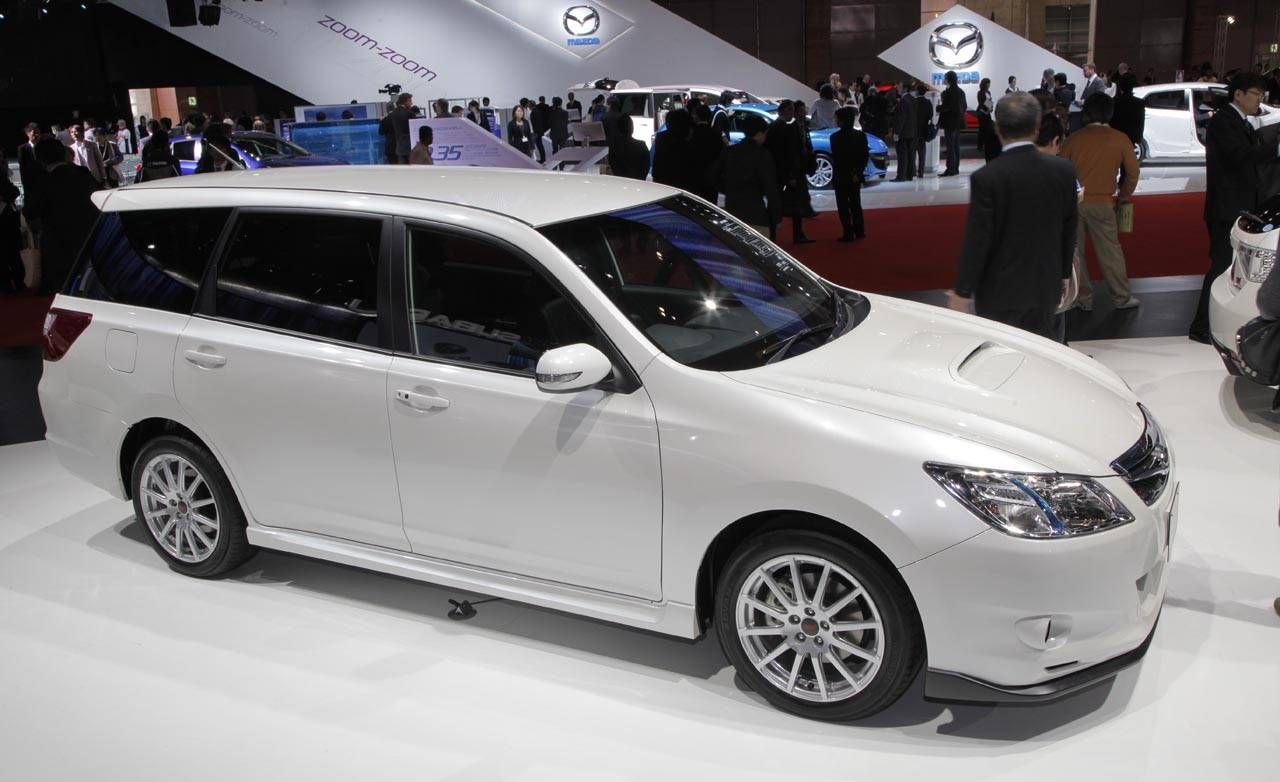 2010 Subaru Exiga 20GT tuned by STI