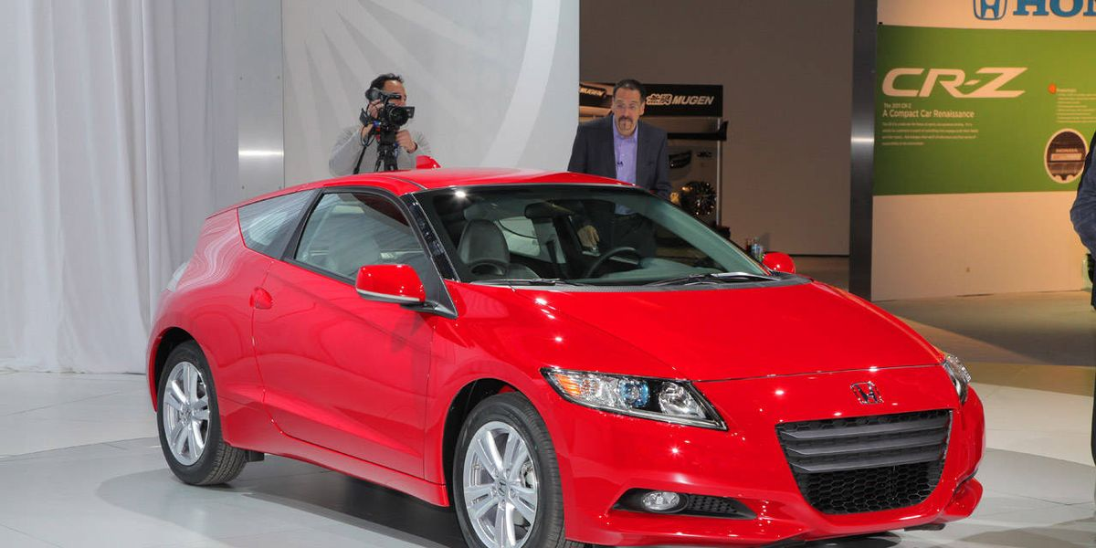 Honda CRZ - Honda center car show