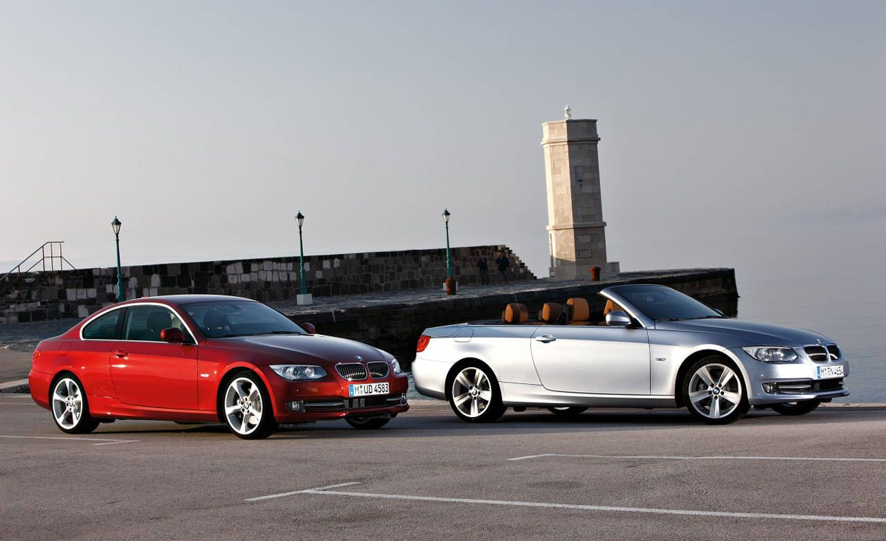 2011 BMW 3 Series Coupe and Convertible  First Look Review