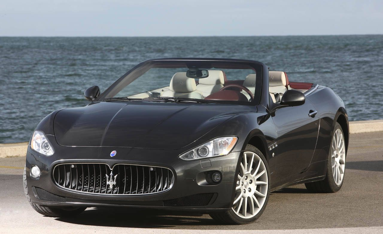 Review Of The New  Maserati Granturismo Convertible Full New Car Details