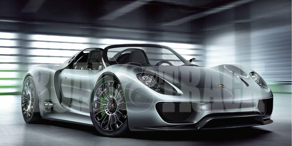 sports cars of the future 2013 porsche 918 spyder