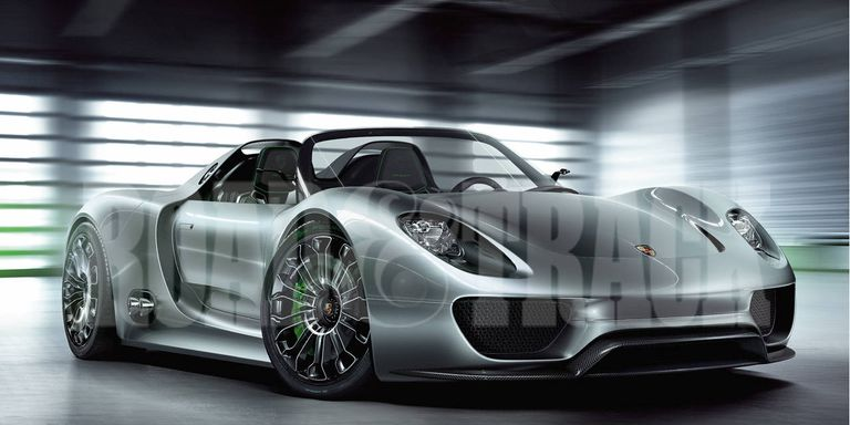 porsches new hybrid concept lapped the nrburgring quicker than the hallowed carrera gt