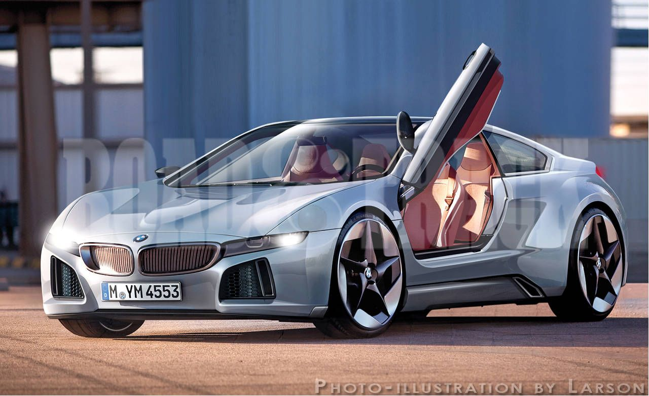 Sports Cars Of The Future 2015 BMW Vision Supercar