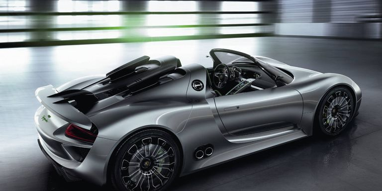 video 2013 porsche 918 spyder faster than a carrera gt and it can get 78 mpg