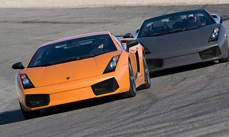 Video Lamborghini Gallardo Spyder Vs Superleggera