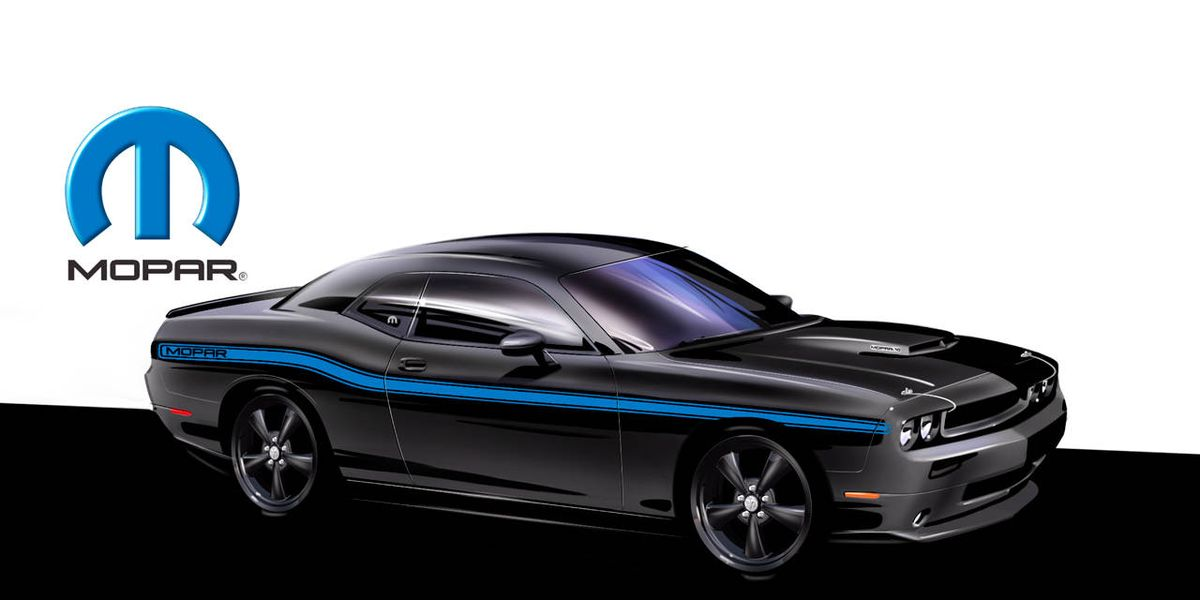 First Look at the New 2010 Mopar '10 Challenger - Photos and Just ...