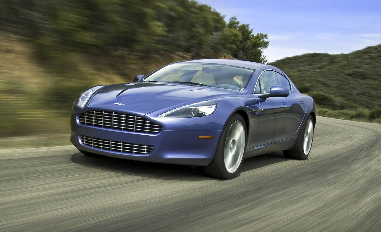 Road Test Of The 2010 Aston Martin Rapide Full Authoritative Test Of The 2010 Aston Martin Rapide