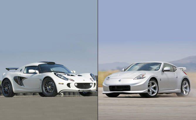 Lotus Exige S 260 Sport vs Nissan Nismo 370Z