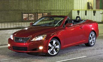 Audi A5 vs  Lexus IS 350C - Find all the specs, photos and