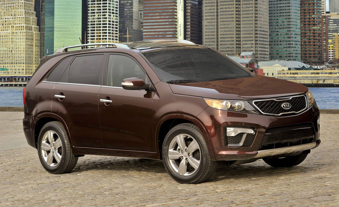 2011 Kia Sorento Sx Crossover Reviews Front Trailer Hitch