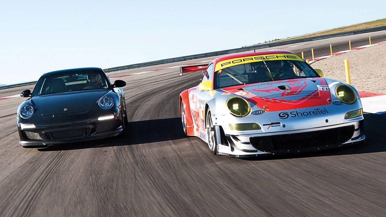 Porsche 911 Gt3 Vs 911 Gt3 Rsr Photos And Results Of The Porsche Gt Showdown