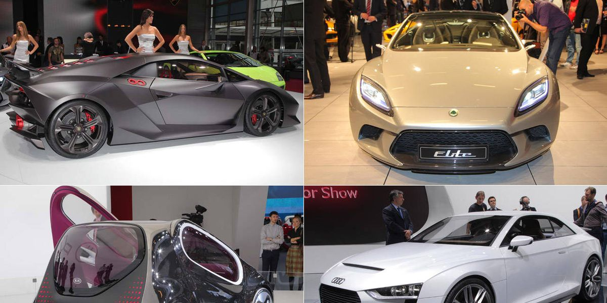 Head-Turning Vehicles - Concept Cars at the 2010 Paris Auto Show