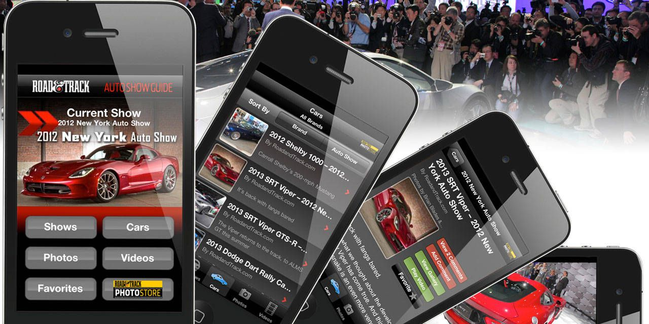 Get The New Auto Show Iphone App From The Car Experts