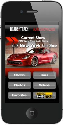 Get The New Auto Show IPhone App From The Car Experts - Car show app