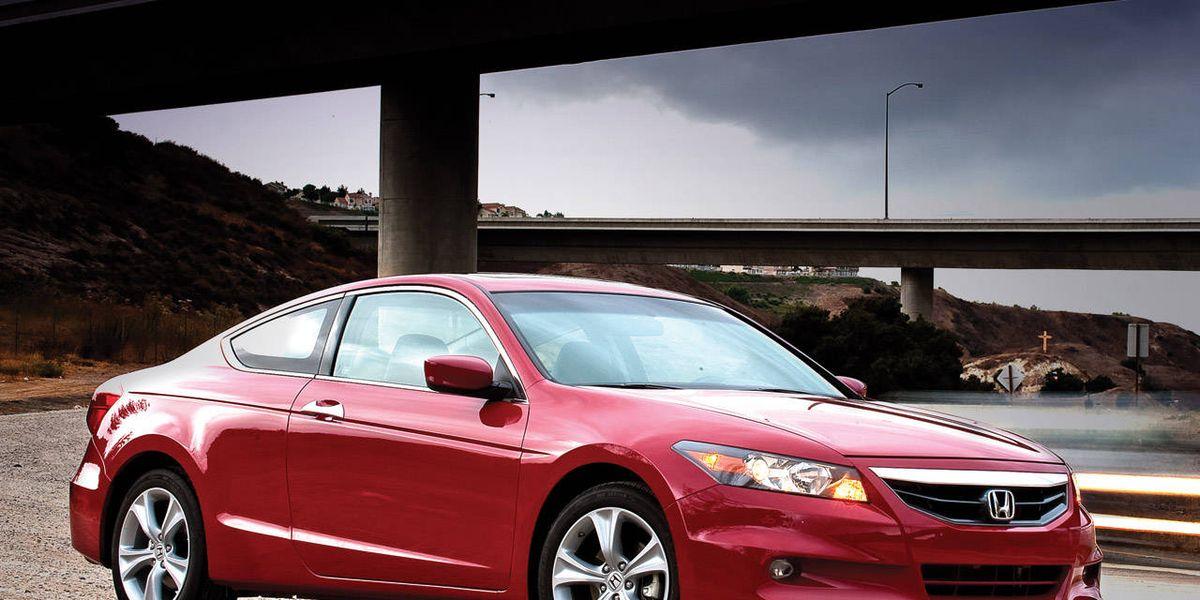 2011 Honda Accord V6 Ex L Coupe Review Honda Road Test