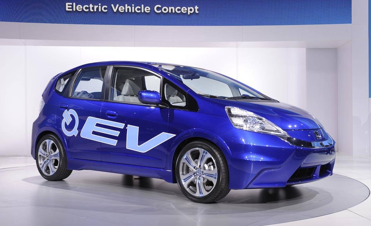Honda honda fit ev range : 2012 Honda Fit EV - New Honda Electric Car at the LA Auto Show
