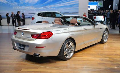 Like The Cur Model This New Bmw 650i Convertible Features An Electrically Ed Soft Top With Flying Ress Architecture