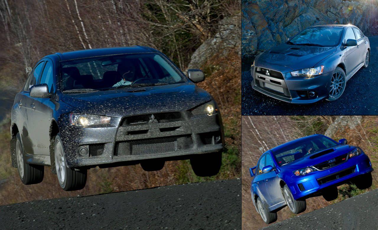 Impreza Wrx Sti Vs Lancer Evo Rally Comparison Test 2003 Mit S Wiring Diagram