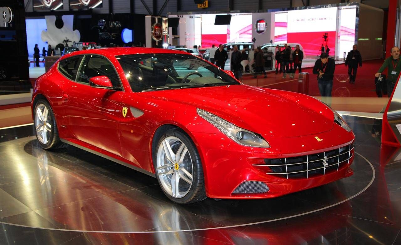 2012 Ferrari - Ferrari FF - New Four Seat Ferrari GT at 2011 Geneva