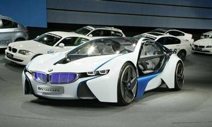 BMW I BMW I Coupe Sports Car - 2013 bmw i8