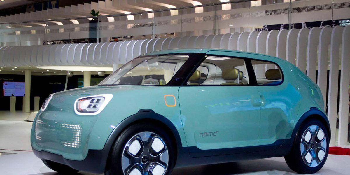 Kia Naimo Kia Concept At 2011 Seoul Auto Show