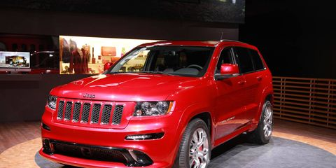 Grand Cherokee SRT8  2012 Jeep Grand Cherokee Review