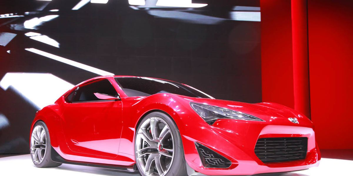 2012 scion frs  new scion concept car at 2011 new york