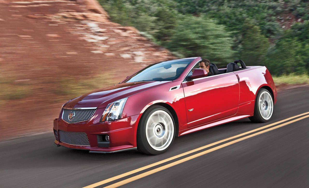 Cadillac CTS-V Convertible - Coup, Sedan, Wagon - First Look