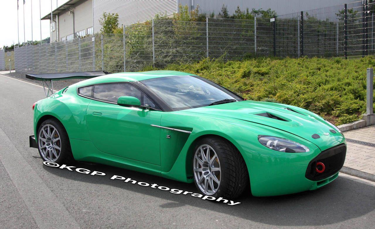 Aston Martin V Zagato Aston Martin V Zagato Spy Photos - Aston martin v12 zagato specs