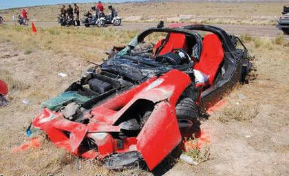 Ferrari Enzo \u2013 Fastest Ferrari Ever Is Crashed and Re,Built