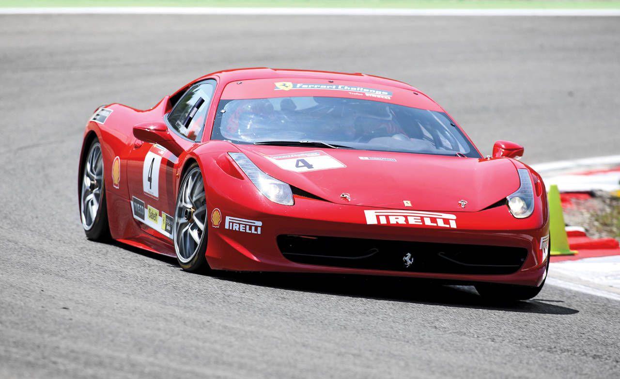 Ferrari 458 Challenge Ferrari 458 Challenge First Drive By Steve Millen