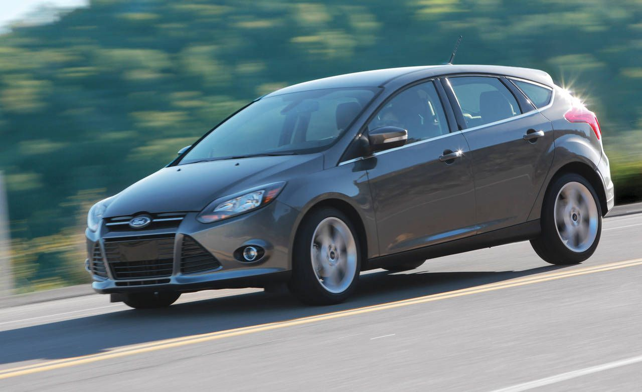 2012 ford focus 5 door hatchback titanium ford focus hatchback review