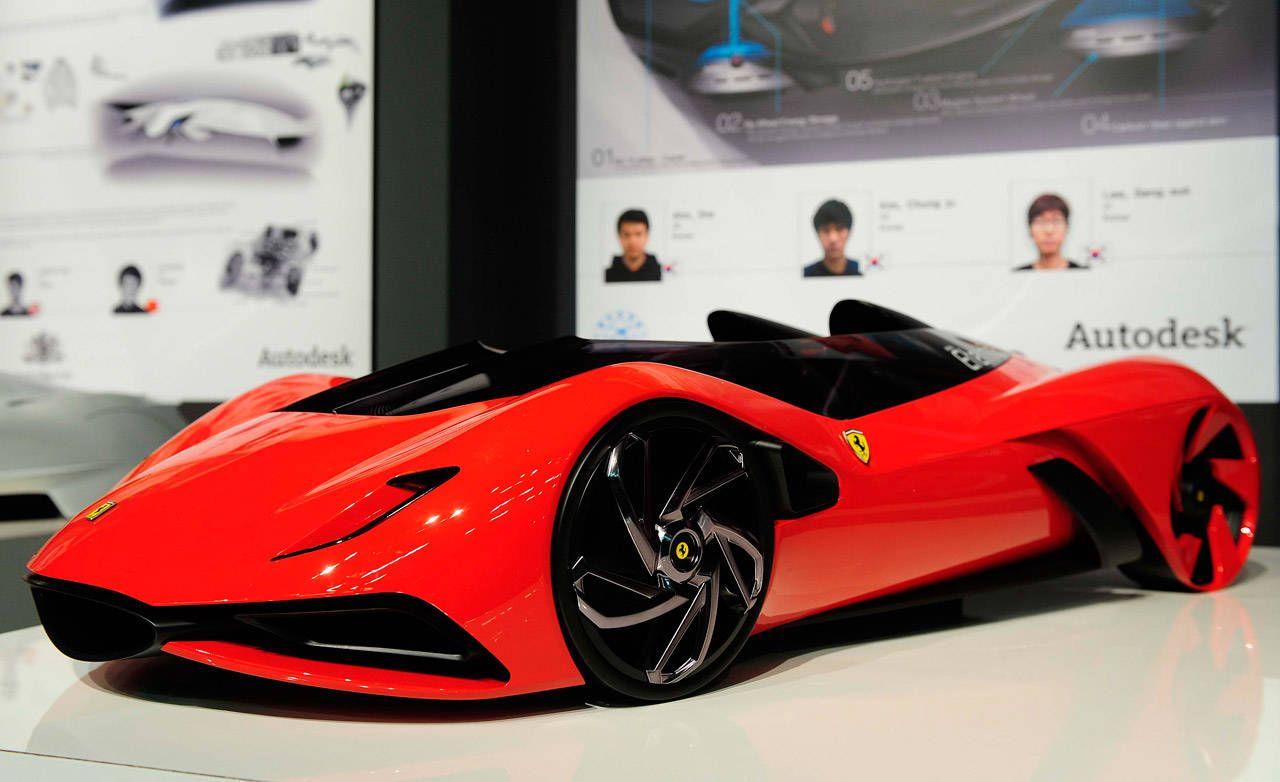 Design car contest - 2011 Ferrari World Design Contest 2025 Ferrari Eternita Concept Design Winner