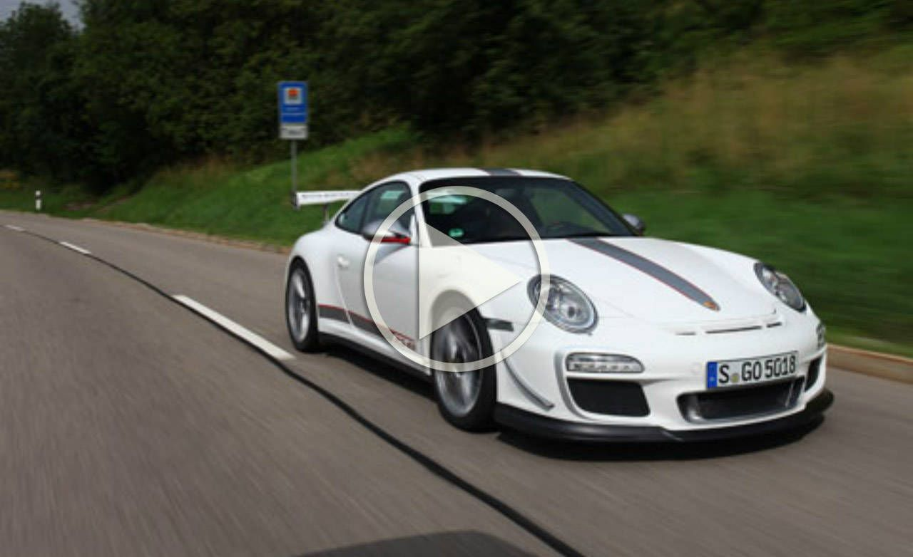 Porsche 911 GT3 RS 4.0 Video of 200 mph Top Speed Run on the ...