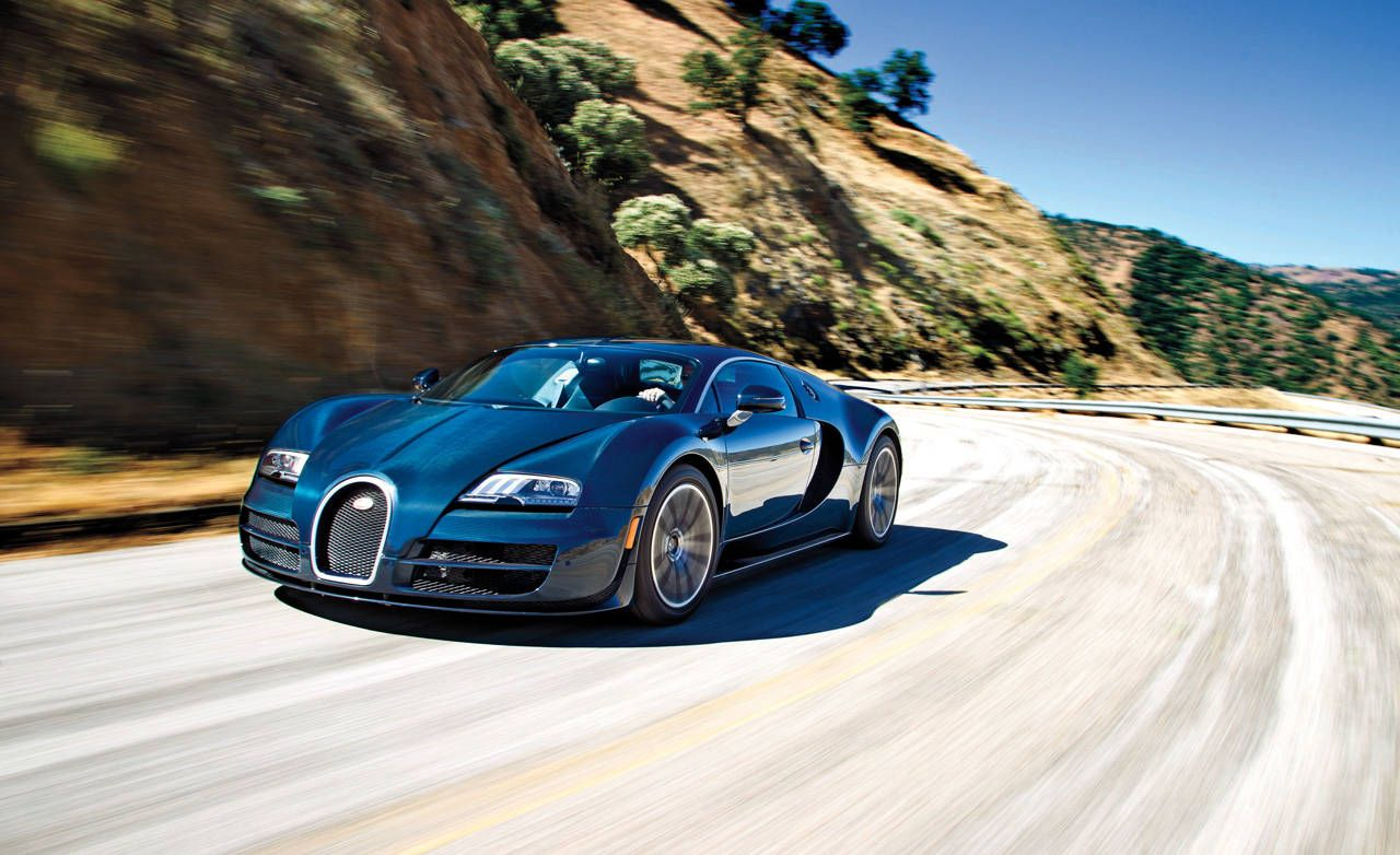 2011 Bugatti Veyron 16 4 Super Sport Road Test