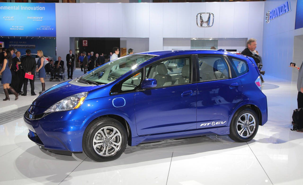 Honda honda fit ev range : 2013 Honda Fit EV – Electric Honda Fit Specs at 2011 LA Auto Show ...