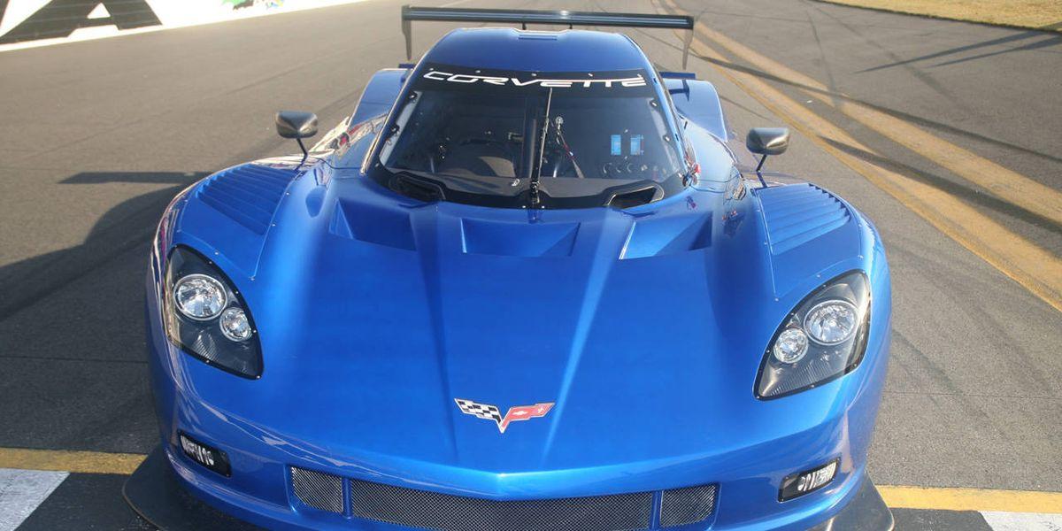 New 2012 Chevrolet Corvette Daytona Prototype Race Car
