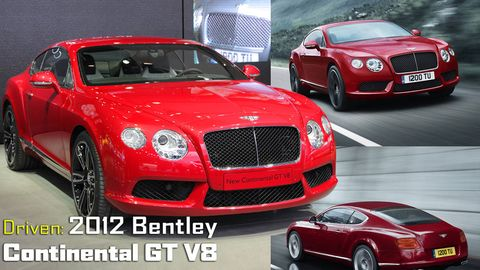 2012 Bentley Continental Gt V8 First Drive Review Of Bentley S New