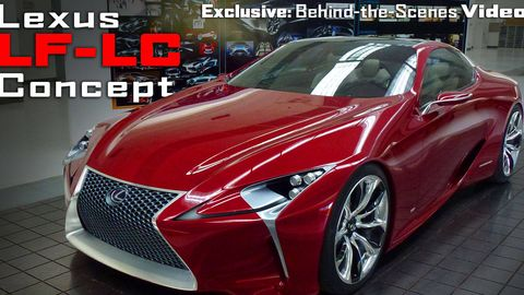Designing the Lexus LF-LC Concept Car –Behind-the-Scenes Exclusive ...