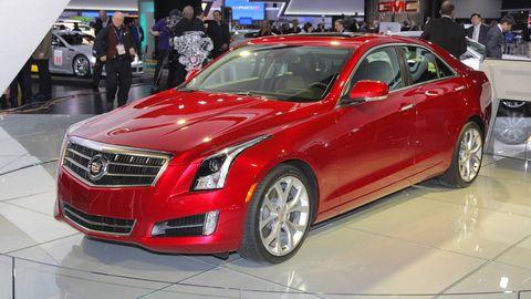 2013 Cadillac Ats Pictures And Specs Cadillac Ats At 2012 Detroit