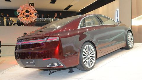Lincoln MKZ Concept – New Lincoln MKZ Pictures