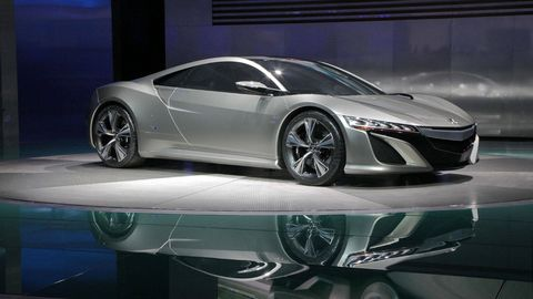 Acura Nsx Concept Next Acura Nsx Will Be Made In America