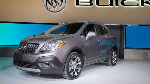 If You Re Scratching Your Head Over This New Small Suv From Buick Not Alone Many Of Us At The Show Did Exactly That When Cover Was Pulled Off