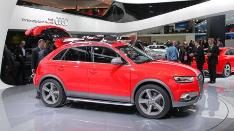 Audi Q3 Vail Concept Photos And News From 2012 Detroit Auto Show