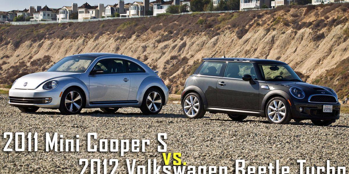 Mini Cooper S vs. VW Beetle Turbo Road Test – RoadandTrack.com