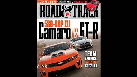 road  track march 2012 cover